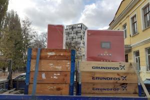 Доставка установок насосного оборудования Grundfos на объект